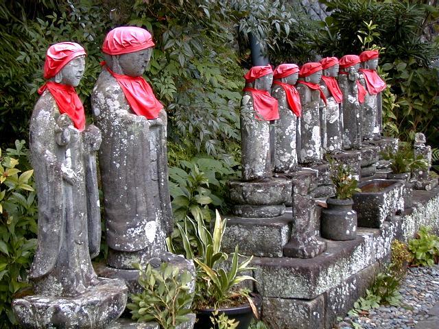 Jizo Statue uk Jizo Statues in Rendaiji